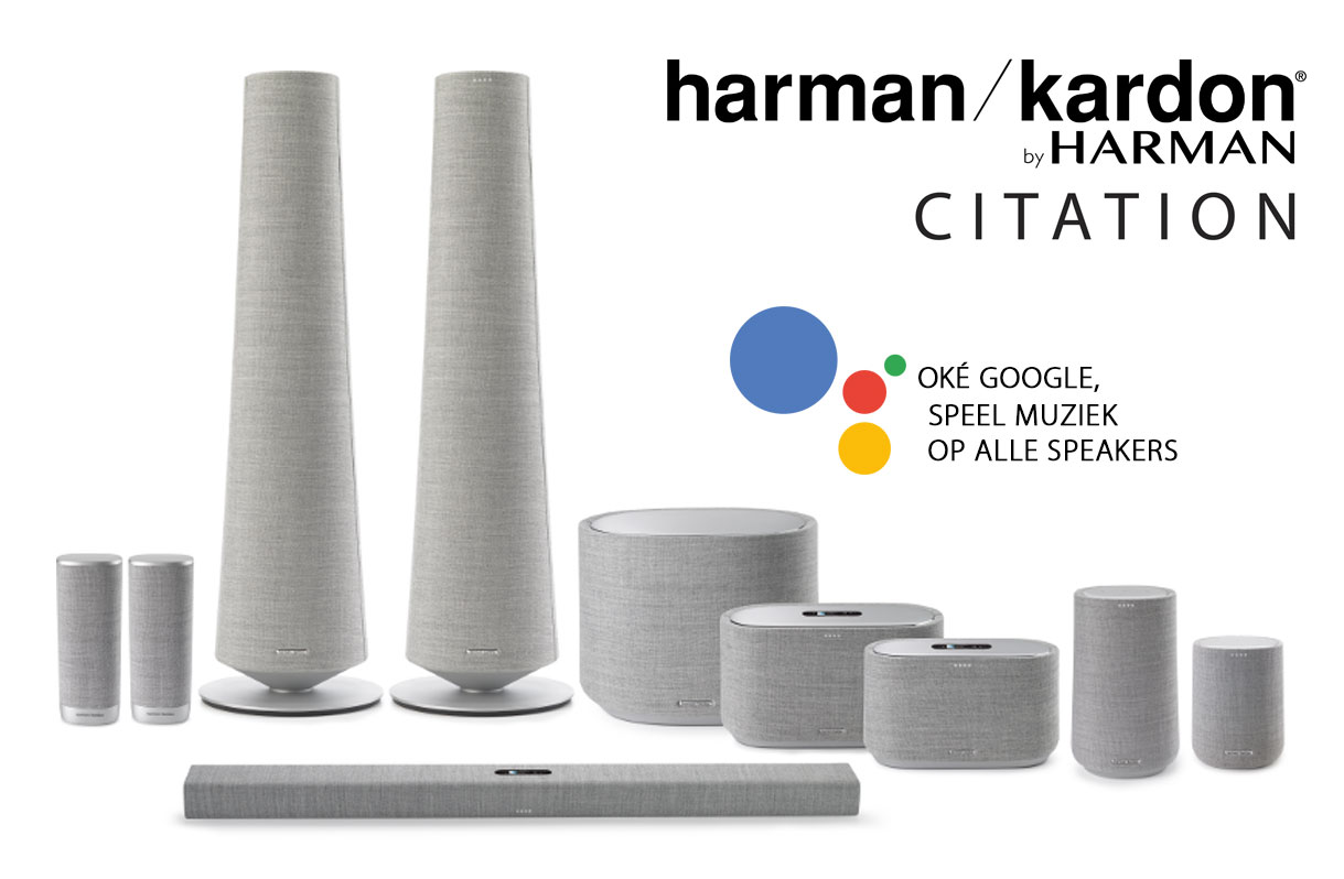 Harman Kardon Citation Google Spraakgestuurd | Brenkman Culemborg