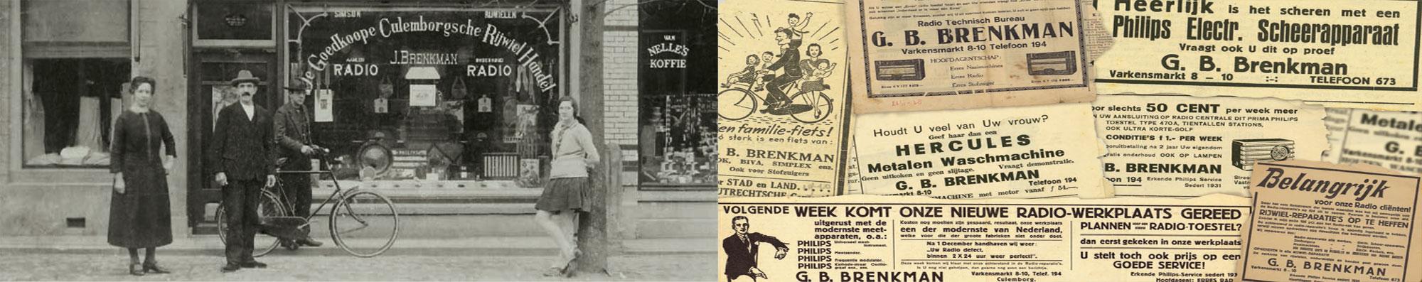 Brenkman Culemborg 110 jaar bestaan
